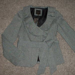 NWT The Limited Black Tweed Blazer Jacket